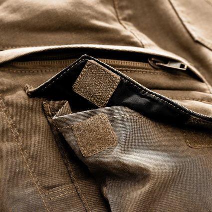 Spodnie robocze: Spodnie typu cargo e.s.vintage, damska + sepia 2